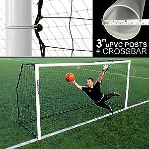 Amazon Com Quickplay Fold Away Soccer Goals Match