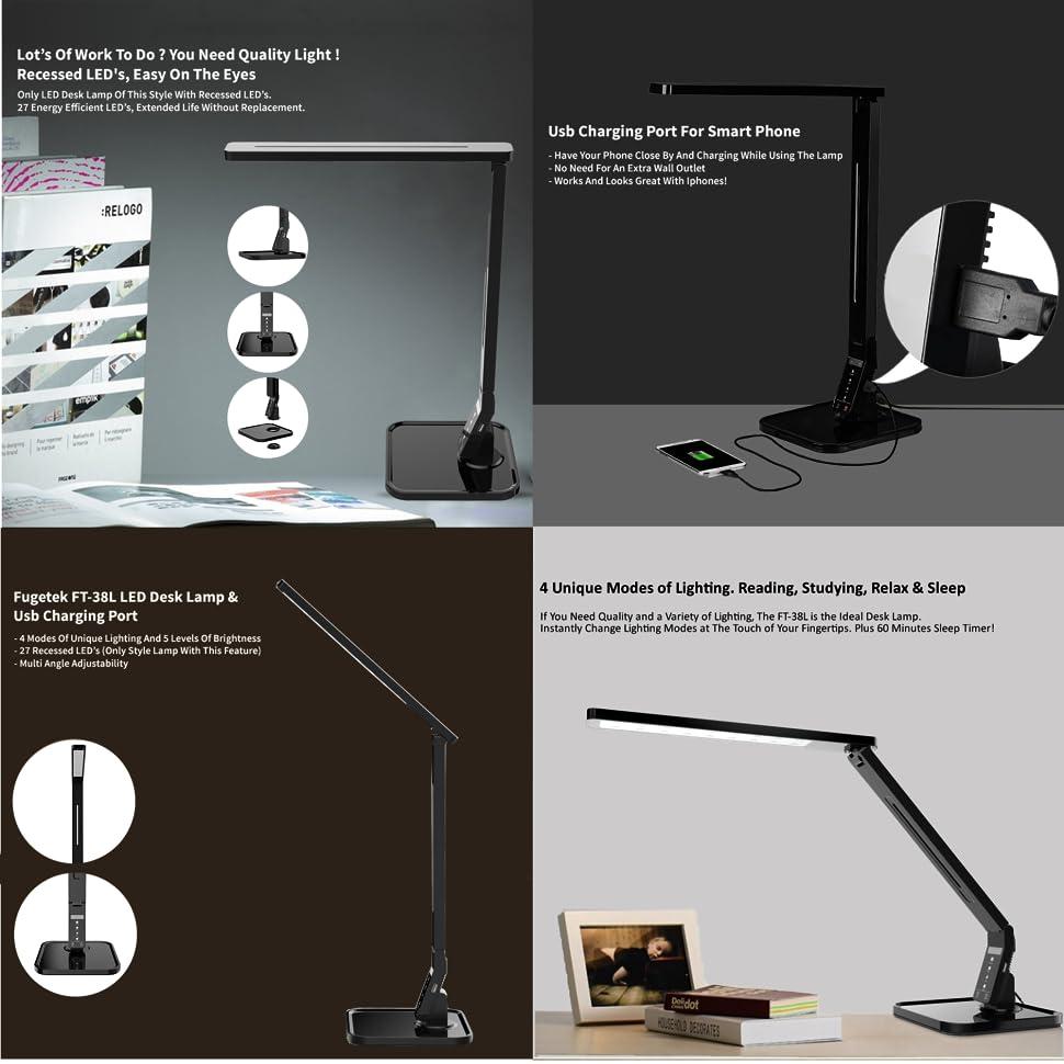 Lonestar Industry Group Led Desk Lamp Fugetek With