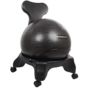 Our Plastic Frame Ball Chair Comes With 60mm, Office Size Wheels, A 52cm  Ball In A Choice Of Colors And A Reinforced Black Metal Ball Retaining Bar.