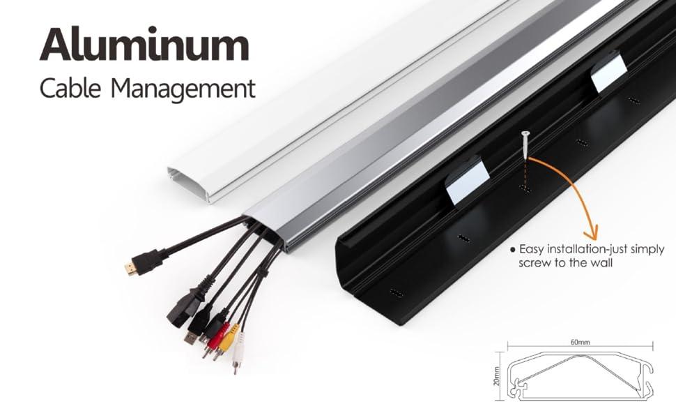 Amazoncom Jestik Cable Management Cable Organizer Cord