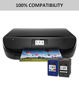 valuetoner remanufactured ink cartridge replacement for hewlett packard hp 21 hp. Black Bedroom Furniture Sets. Home Design Ideas