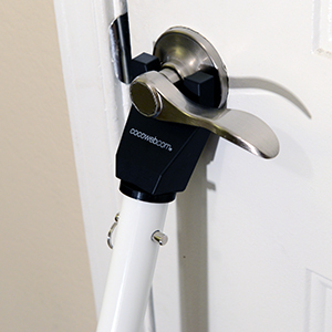 Door Security Bar Dual Function Jammer Home Brace Safety ...