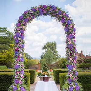 Adorox Wedding Arch Looks Great When Decorated With Flowers. Make That  Entrance To Your Garden Or Walkway Stand Out.