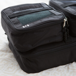 how to get musty smell out of nylon suitcases