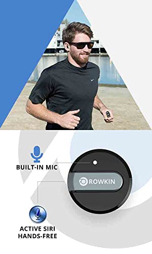 rowkin bit stereo bluetooth w mic smallest earbuds see. Black Bedroom Furniture Sets. Home Design Ideas