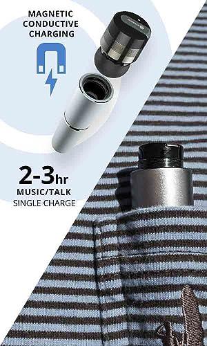 rowkin bit stereo bluetooth headphones true wireless earbuds with mic smallest. Black Bedroom Furniture Sets. Home Design Ideas