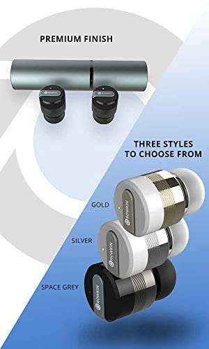 rowkin bit stereo bluetooth headphones wireless earbuds. Black Bedroom Furniture Sets. Home Design Ideas