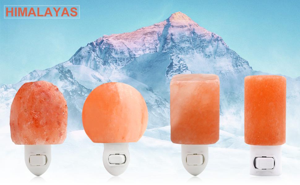 Amazon.com: ANTEQI Natural Household Salt Lamp Himalayan Amber ...