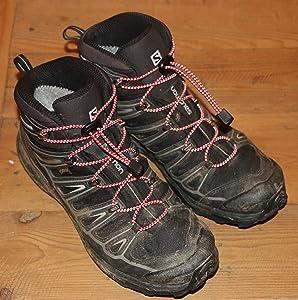 Amazon.com: No Tie Elastic Shoelaces by Lemon Hero - Range
