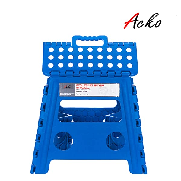 Amazon Com Acko Folding Step Stool 13 Inch Height