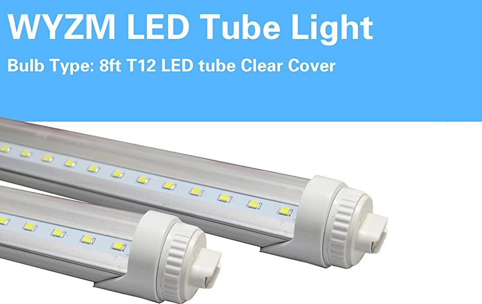 40w 8ft Led Tube Light Replace For Philips 38177 4 F96t12