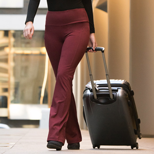 Betabrand Women S Travel Yoga Pants Straight Leg At