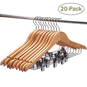 Stylish And Flat Hangers With Natural Finish Look Attractive And Maximize  Your Closet Space. Itu0027s The Best Décor For Your Wardrobe.