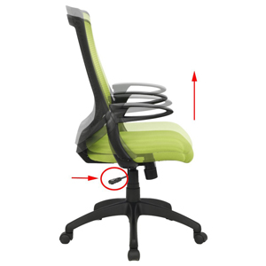 Amazon Com Viva Office High Back Mesh Chair Green