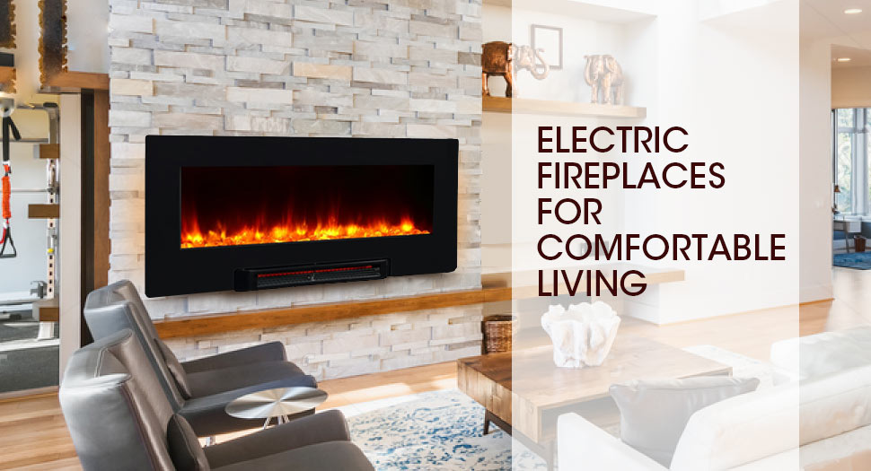 36 Wall Mounted Infrared Flat Panel Electric Fireplace Adjustable Heater Hearth Ebay