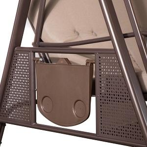 Amazon Com Abba Patio 3 Seat Outdoor Canopy Porch Swing