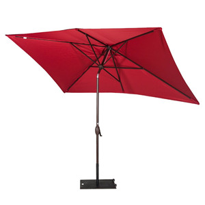 This 6.6 By 9.8 Feet Rectangular Outdoor Table Patio Umbrella Provides Up  To 70 Sq. Ft. Of Shade, Ideal For Both Residential And Commercial Locations.