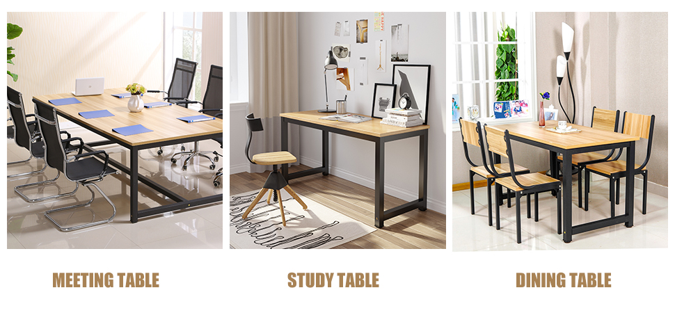 Multifunction Can Be Used As Computer Desk Office Workstation Study Table Meeting Home Even Dining Personalize Your With