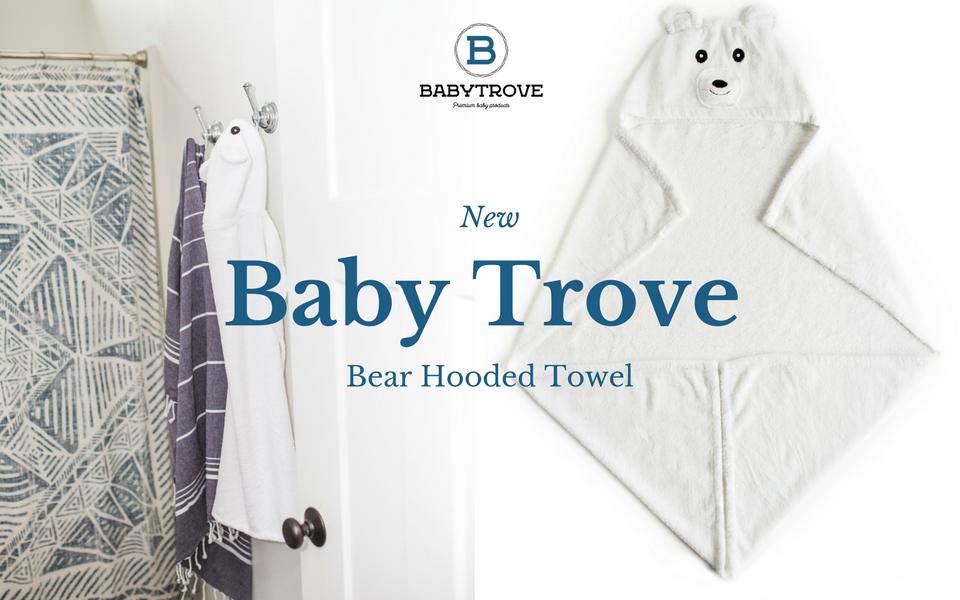 Amazon.com : Bear Hooded Towel | Super Soft Organic Bamboo | For Boys