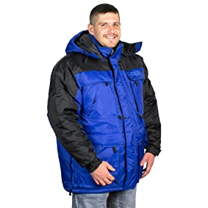 Freeze Defense Men's 3-in-1 Winter Jacket Coat w/ Vest at Amazon ...