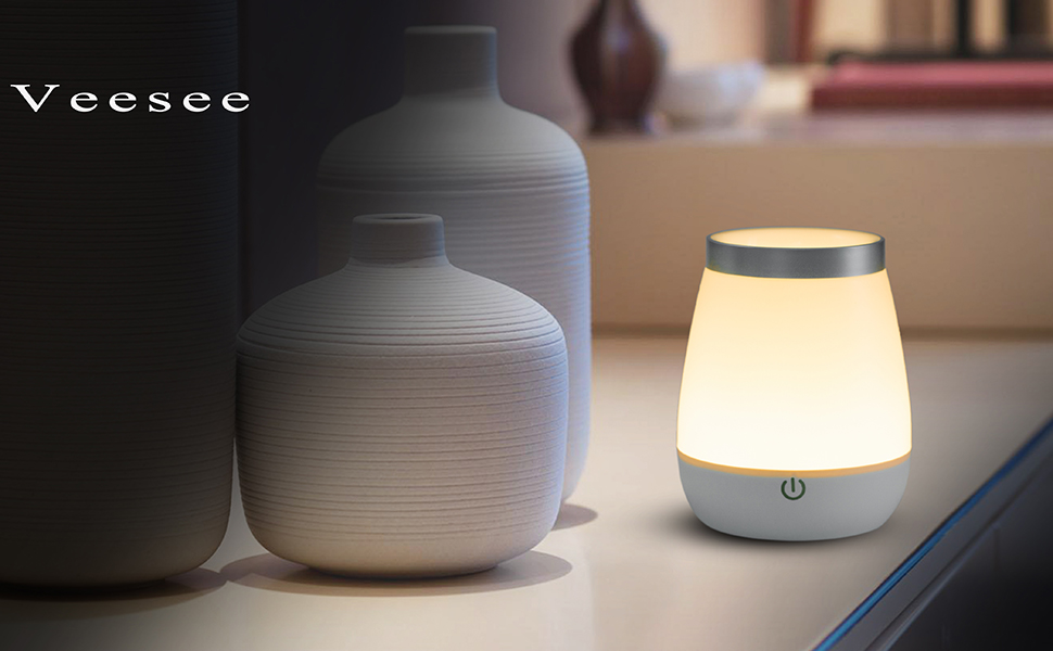 Amazon Veesee Led Night Lightrechargeable Baby Night Desk Lamp