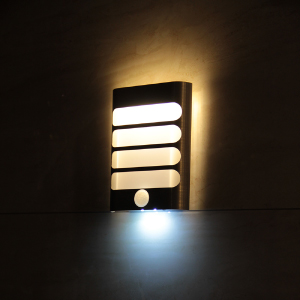 Wall Sconce Night Light : MAZ-TEK Wall Sconce Night Light, PIR LED Motion Sensor Activated Night Light Stick-on Anywhere ...