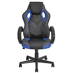 Amazoncom Gaming Chair Racing Chair Workstation Computer Chair - Leather computer chairs