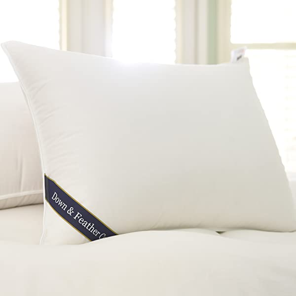 Amazon Com Snuggle Soft 800 Goose Down Pillow Standard