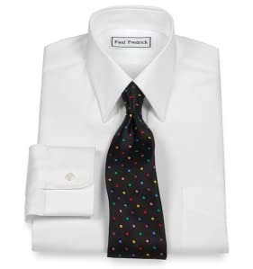Paul Fredrick Men 39 S Cotton Oxford Traditional Straight: straight collar dress shirt