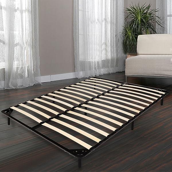 Amazon.com: Homdox Bed Frames / Wooden Slats Support / Mattress ...