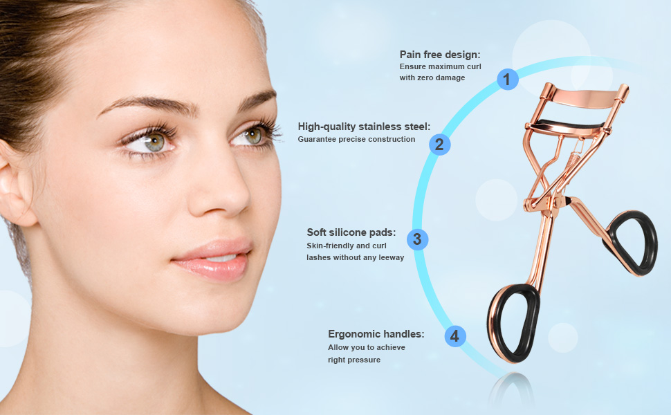 eyelash curler results. perfect eyelash curler only for you become more beautiful. suitable for all eyes - amazing results eyes of all shapes \u0026 sizes including asian,