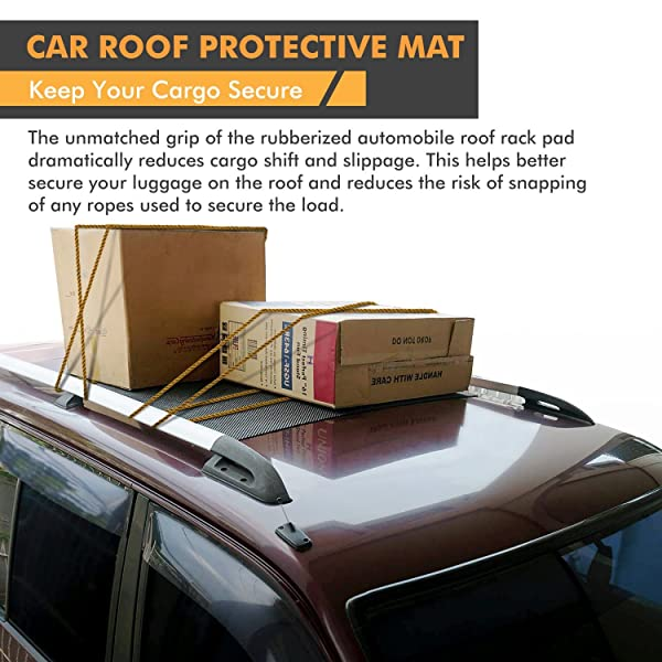 CONFIDENTLY USE YOUR CAR ROOF RACK WITHOUT RISK OF DAMAGE