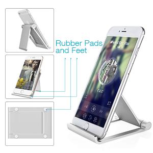 Amazoncom Desktop Cell Phone Stand Jellas Pocket Size Aluminum