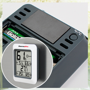 thermopro tp50 hygrometer indoor humidity. Black Bedroom Furniture Sets. Home Design Ideas