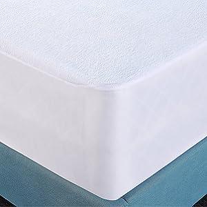 Amazon Com Hypoallergenic Waterproof Mattress Protector