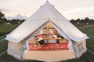 DREAM HOUSE HD GLAMPING/SAFARI TENT This is a cotton canvas tent and it is big and beautiful. This is a four-season tent with a ground cloth available for ... & LIVABLE TENTS