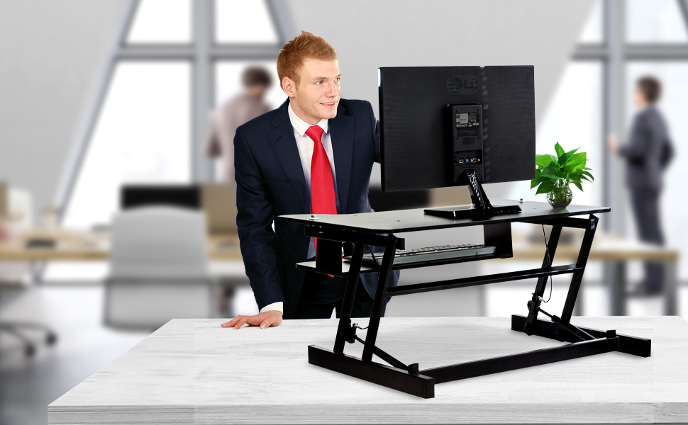 This Durable Sit Stand Desk Is Easy To Transport And Supports Up To 50  Pounds Of Equipment And Supplies.