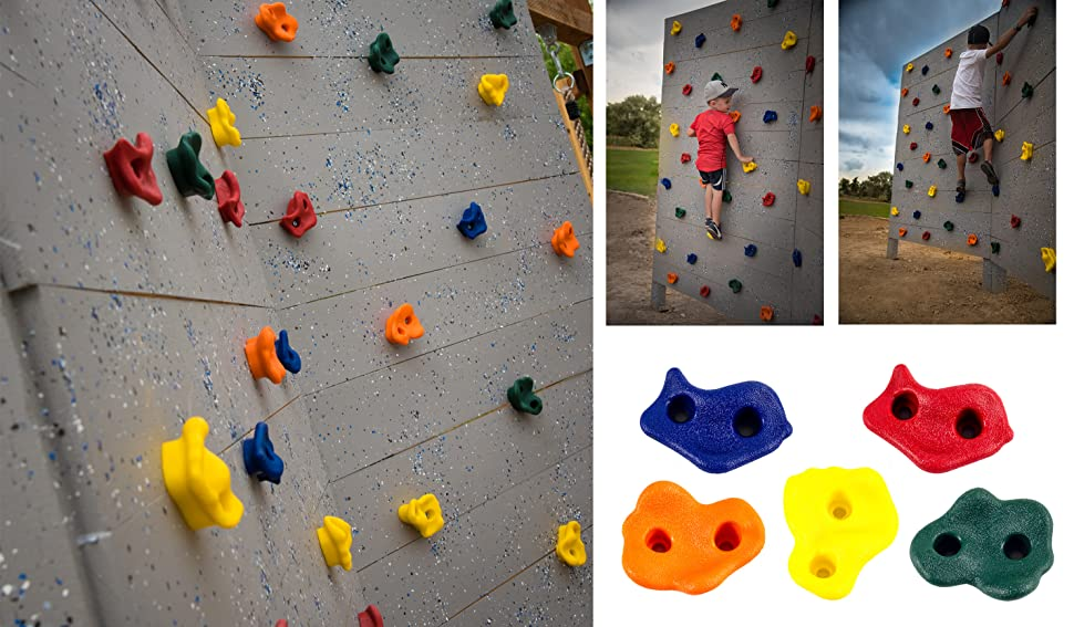 Amazon.com: 20 Deluxe Extra Large Assorted Rock Climbing ...