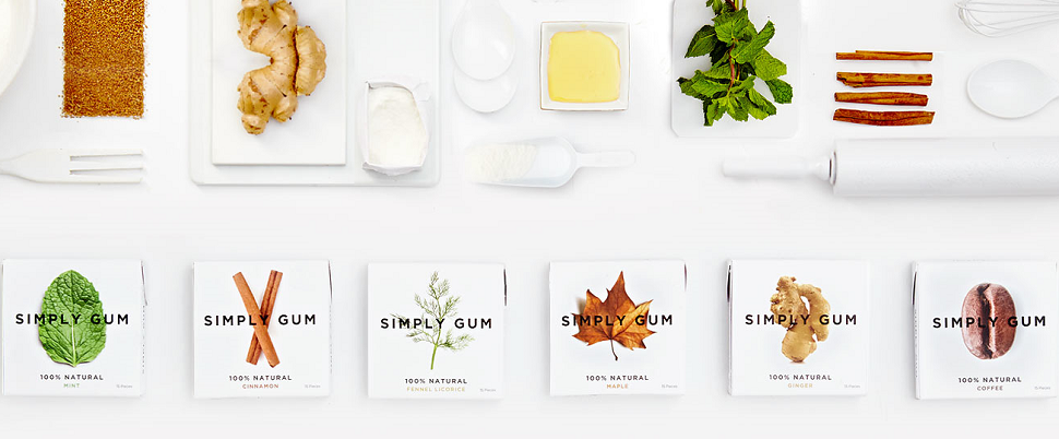 Amazon.com : Simply Gum, Assorted Natural Chewing Gum, Non
