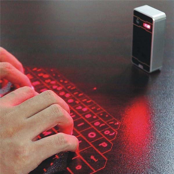 Amazon.com: LAMASTON Mini Laser Keyboard Projector