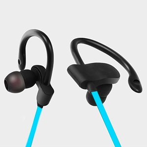 bluetooth headphones gaosa sport wireless in earphones with earhook 4 1 earbuds with. Black Bedroom Furniture Sets. Home Design Ideas