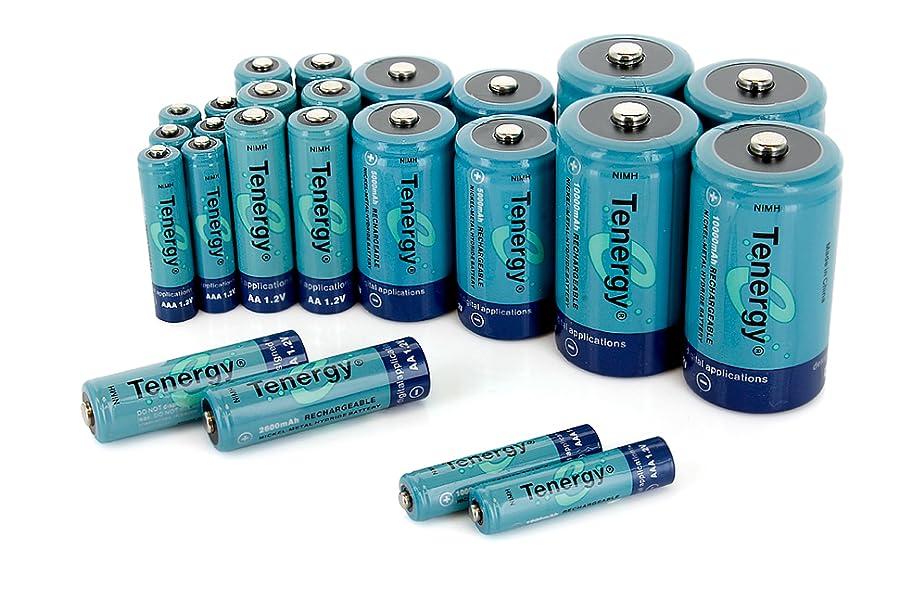 Amazon.com: Tenergy High Capacity NiMH Rechargeable Combo
