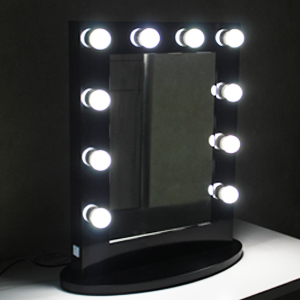 Amazon Com Chende Black Hollywood Makeup Vanity Mirror