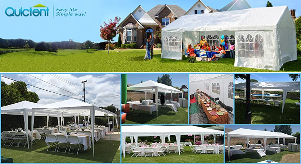 Quictent Is One Of The Top Brands Who Sell Quality Structures Like Carport Marquees Party Tent Greenhouses Etc Which Has Been Doing Tents Business Since