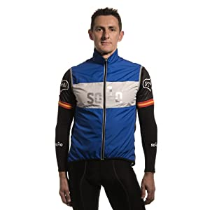 Amazon.com: Solo Equipe Cycling Gilet, Blue: Sports & Outdoors