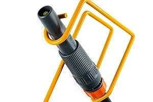 Amazoncom Ascot Garden Hose Nozzle Holder Yellow Steel