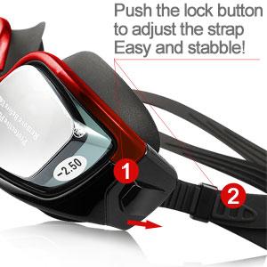 Amazon Com Rx Prescription Swim Goggles Zionor G3