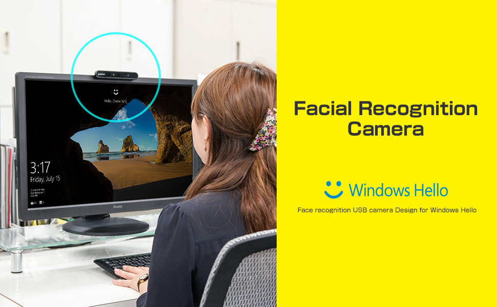 The facial recognition software for webcam congratulate, what