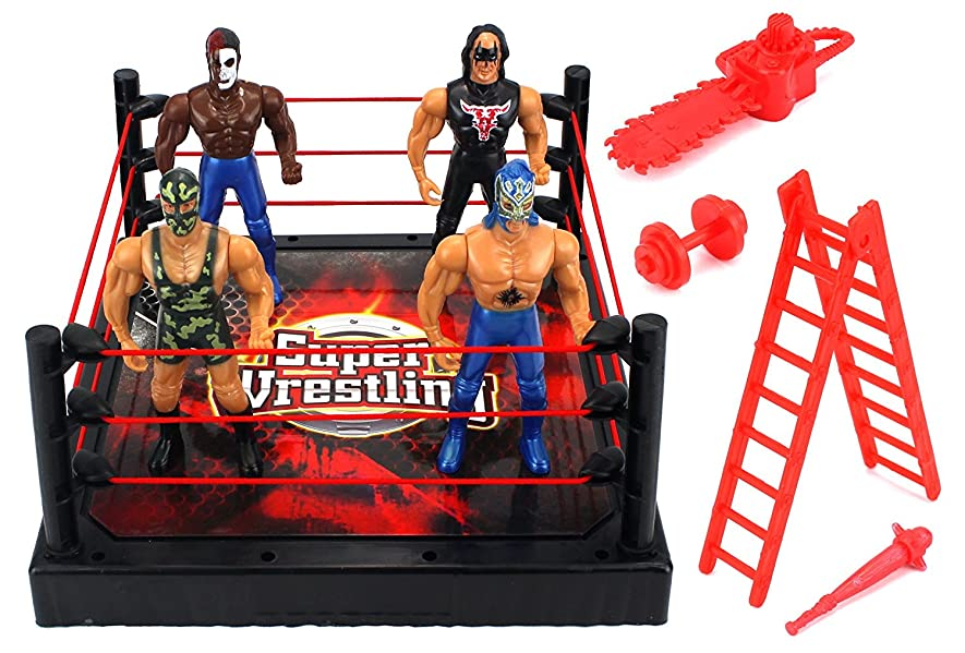 Toys R Us Wwe Rings : Amazon vt super rumble wrestling toy figure play set