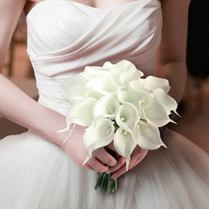 Luyue calla lily bridal wedding bouquet head lataex real touch wedding cake calla lilies junglespirit Gallery